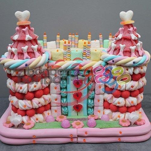 Modele de gateaux en bonbons les recettes populaires blogue le blog des g teaux - Gateau en bonbon ...