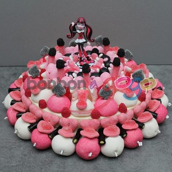 "GÂTEAU DE BONBONS ""MONSTER HIGH"""