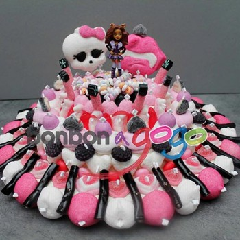 "GÂTEAU DE BONBONS ""MONSTER HIGH PARTY"""
