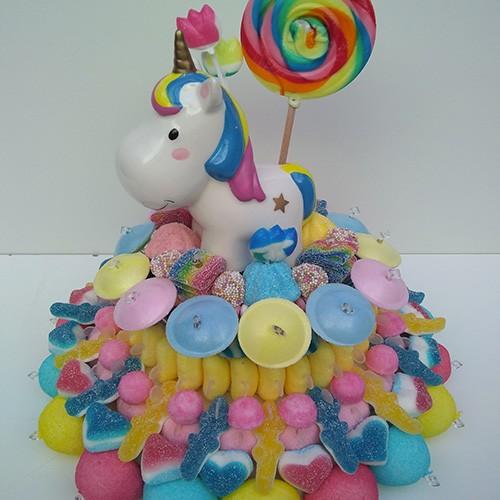 Acheter Gateau De Bonbons Disney Licorne Bonbon A Gogo Com