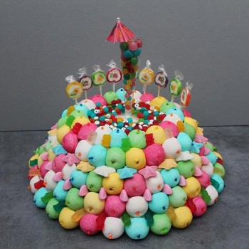 "GÂTEAU DE BONBONS ""HAPPY BIRTHDAY"""
